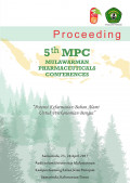 Proceeding 5h MPC Mulawarman Pharmaceuticals Conferences,