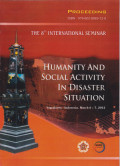 Proceeding The 8th International Seminar : Humanity And Social Activity In Disaster Situation