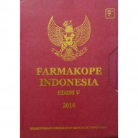 Image of Farmakope Indonesia Edisi V 2014 Buku 1